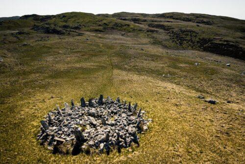 Bryn Cader Faner stone circle