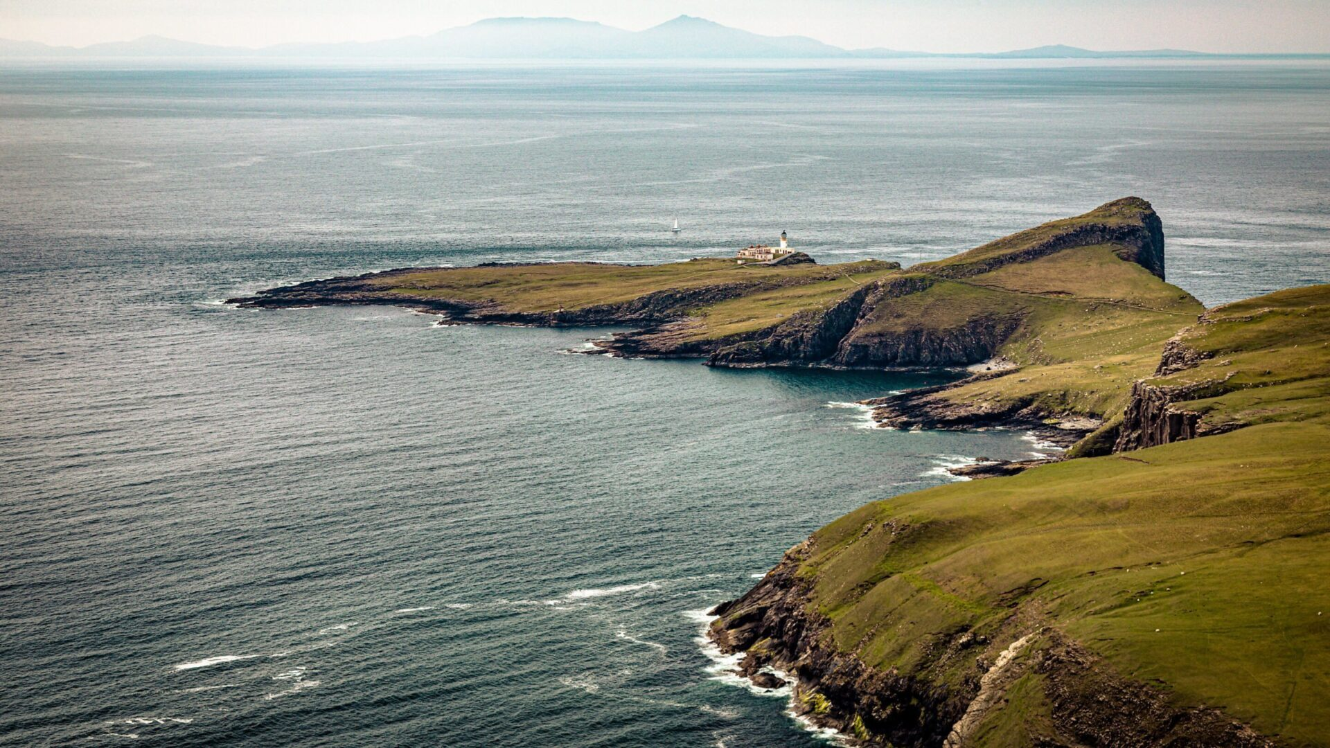 Neist Point from above
